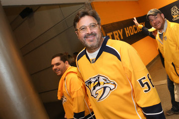 Vince Gill Celebrities Attend The 2017 NHL Stanley Cup Final - Game Four