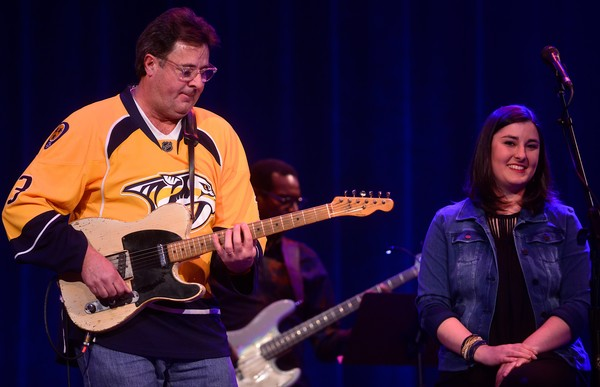 Vince Gill Jenny Gill Photos Vince Gill And Friends In Concert