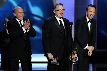 Vince Gilligan Jonathan Banks The 65th Annual Primetime Emmy Awards