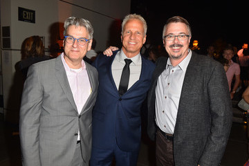 Vince Gilligan Peter Gould AMC's 'Better Call Saul' Season 4 Premiere - After Party