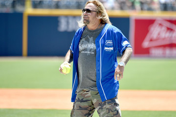Vince Neil City of Hope Celebrity Softball Game - Game
