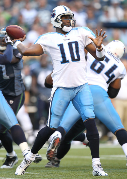 Vince+Young+Tennessee+Titans+v+Seattle+S
