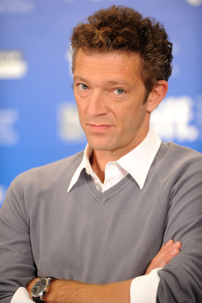 "Actor Vincent Cassel speaks at ""Black Swan"" press conference during the 2010"