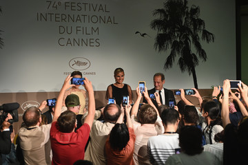 Vincent Lindon Agathe Rousselle Closing Ceremony Press Conference - The 74th Annual Cannes Film Festival