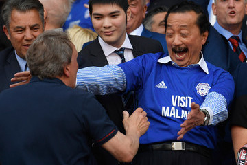 Vincent Tan Cardiff City vs. Reading - Sky Bet Championship