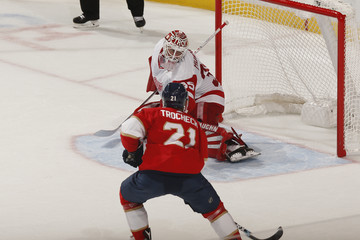 Vincent Trocheck Detroit Red Wings v Florida Panthers