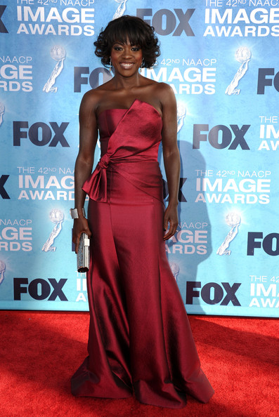 Viola Davis - 42nd NAACP Image Awards - Arrivals