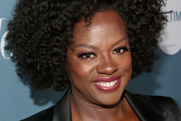 Viola Davis The Hollywood Reporter's Power 100 Women In Entertainment - Red Carpet