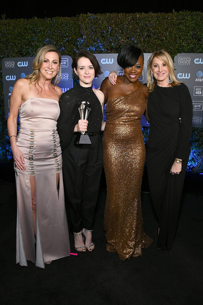 Claire Foy Accepts The #SeeHer Award At The 24th Annual Critics' Choice Awards