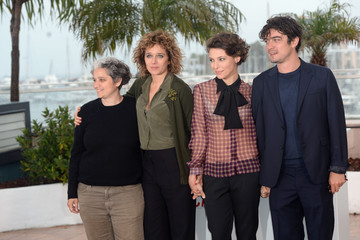 Viola Prestieri Ricardo Scamacio 'Miele' Photo Call in Cannes — Part 2