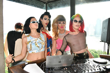 Violet Chachki Aquaria Ketel One Family-Made Vodka Celebrates World Pride NYC At Pride Oasis With The Misshapes