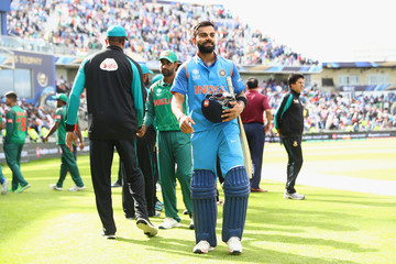 Virat Kohli Bangladesh v India - ICC Champions Trophy Semi Final