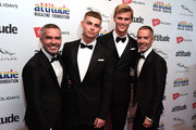 Fashion designers, Dean Caten and Dan Caten and guests attend The Virgin Holidays Attitude Awards at The Roundhouse on October 11, 2018 in London, England.