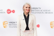 Wallis Day attends the Virgin TV British Academy Television Awards at The Royal Festival Hall on May 13, 2018 in London, England.