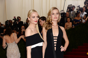 Virgine Courtin Clarins Red Carpet Arrivals at the Met Gala — Part 3