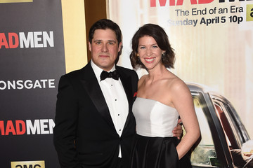 Virginia Donohoe AMC Celebrates 'Mad Men' With The Black & Red Ball - Arrivals