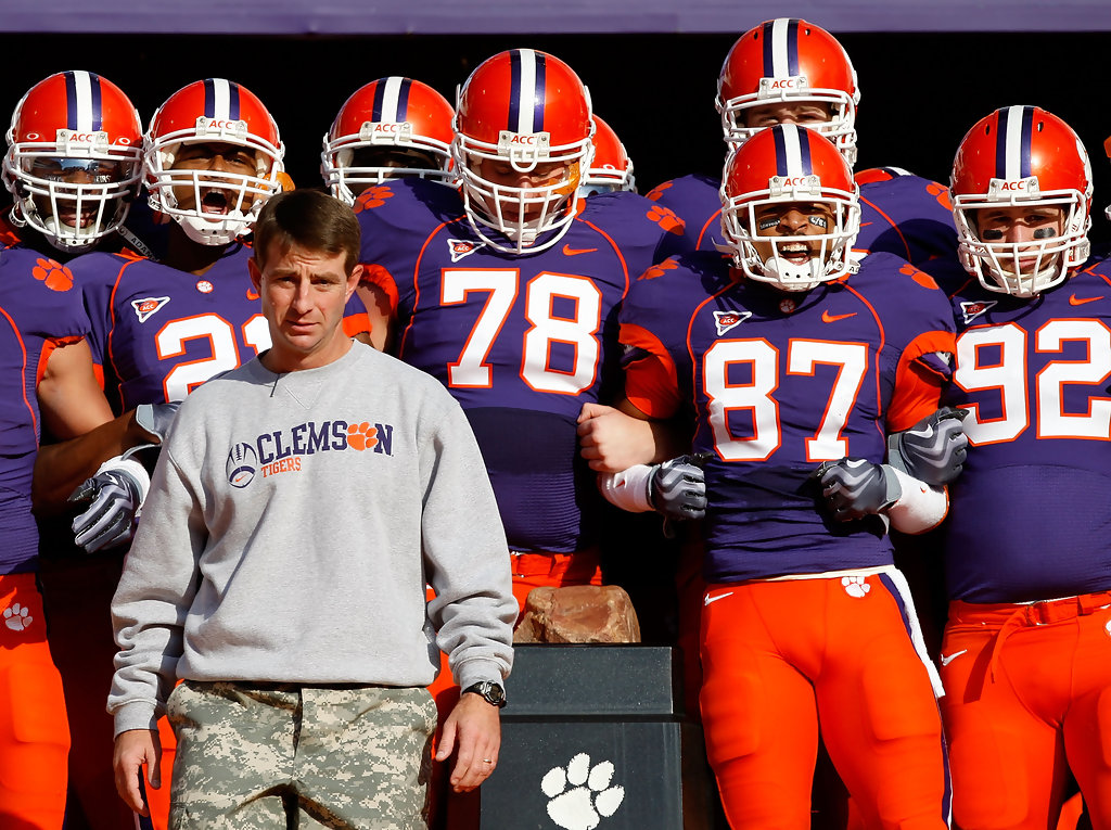 Dabo Swinney in Virginia v Clemson - Zimbio