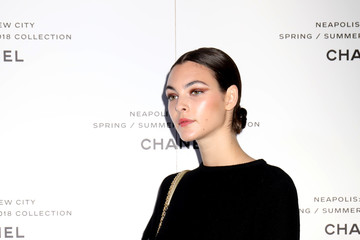 Vittoria Ceretti Launch of Lucia Pica's Spring-Summer 2018 Make up Collection in Naples