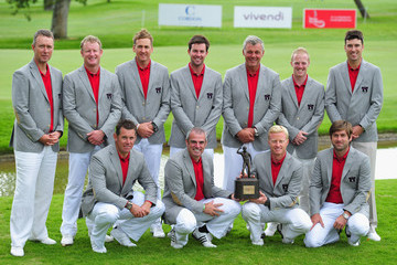 Lee Westwood Ross Fisher Vivendi Seve Trophy - Day Four