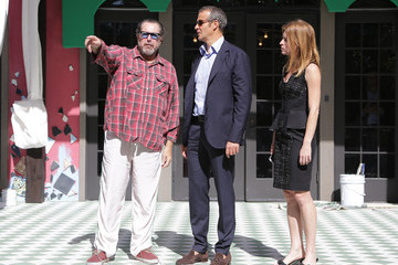 Vladislav Julian Schnabel Attends Installation