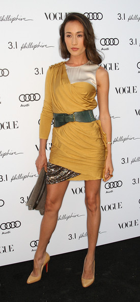 Actress Maggie Q attends Vogue's one year anniversary party at the Phillip Lim Los Angeles store on July 15, 2009 in West Hollywood, California.