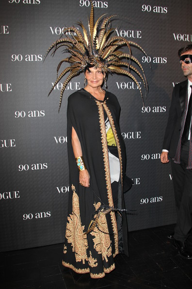 Diane Von Furstenberg attends Vogue 90th Anniversary Party at Hotel Pozzo di Borgo on September 30, 2010 in Paris, France.