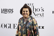 Suzy Menkes attends the 'Vogue Who's On Next' party at the El Principito Club on May 18, 2017 in Madrid, Spain.