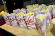 Popcorn on display during the fourth annual Volkswagen Drive-In Movie with Shay Mitchell at the Petersen Automotive Museum on November 21, 2019 in Los Angeles, California.