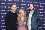 Eric Bana, Connie Britton, and Nate Jones attend the Vulture Festival Los Angeles 2018 at The Hollywood Roosevelt Hotel on November 17, 2018 in Los Angeles, California.
