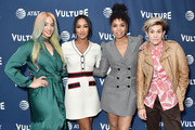 Dascha Polanco, Candice Patton, Susan Kelechi Watson, and Cameron Esposito arrive at the Vulture Festival Los Angeles 2019 Day 1 at Hollywood Roosevelt Hotel on November 9, 2019 in Hollywood, California.