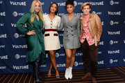 (L-R) Dascha Polanco, Candice Patton, Susan Kelechi Watson and Cameron Esposito attend Vulture Festival Presented By AT&T at The Roosevelt Hotel on November 09, 2019 in Hollywood, California.