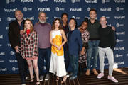 (L-R) Chris McKenna, Gillian Jacobs, Dan Harmon, Alison Brie, Danny Pudi, Ken Jeong, Yvette Nicole Brown, Joel McHale and Jim Rash attend Vulture Festival Presented By AT&T at The Roosevelt Hotel on November 10, 2019 in Hollywood, California.