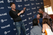 (L-R) Joel McHale, Danny Pudi, Ken Jeong, Yvette Nicole Brown and Alison Brie attend Vulture Festival Presented By AT&T at The Roosevelt Hotel on November 10, 2019 in Hollywood, California.