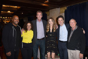 (L-R) Donald Faison, Judy Reyes, Neil Flynn, Sarah Chalke, Zach Braff and Ken Jenkins attend the Heineken Green Room during Vulture Festival presented by AT&T at Hollywood Roosevelt Hotel on November 17, 2018 in Hollywood, California.