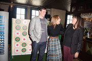 (L-R) Tom Everett Scott, Andrea Savage and Joey Slamon attend the Heineken Green Room during Vulture Festival Presented by AT&T at Hollywood Roosevelt Hotel on November 18, 2018 in Hollywood, California.