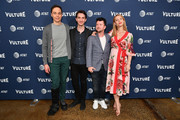 Actor Jim Parsons, Writer Daniel Pearle, Director Silas Howard, and Actor Claire Danes of A Kid Like Jake attend Day Two of the Vulture Festival Presented By AT&T at Milk Studios on May 20, 2018 in New York City.