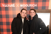 Lewis Pullman and Thomas Mann attend The Vulture Spot during Sundance Film Festival on January 28, 2019 in Park City, Utah.