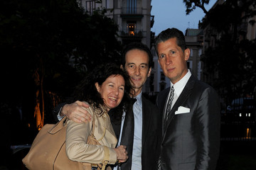 Maria Cristina Modonesi W Celebrates Editor-In-Chief Stefano Tonchi