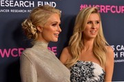 """(L-R) Paris Hilton and Nicky Hilton Rothchild  attend WCRF's """"An Unforgettable Evening"""" at Beverly Wilshire, A Four Seasons Hotel on February 27, 2020 in Beverly Hills, California."""