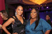"""Cynthia Bailey and Loni Love attend WCRF's """"An Unforgettable Evening"""" at the Beverly Wilshire Four Seasons Hotel on February 28, 2019 in Beverly Hills, California."""