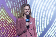 Natalia Vodianova during WE Day UK 2019 at The SSE Arena on March 06, 2019 in London, England.