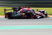 REBELLION RACING in the Rebellion R13 in the Gibson and Gibson driven by Neel Jani of Switzerland, Andre Lotterer of Germany Bruno Senna of Brazil competes during Final Free Practice session in the WEC 6 Hours Of Spa-Francorchamps at Circuit de Spa-Francorchamps on May 4, 2018 in Spa, Belgium.