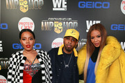 """(L - R)  Angela Simmons, Jojo Simmons, and Vanessa Simmons attend the """"Growing Up Hip Hop"""" season 4 party on December 4, 2018 in New York City."""
