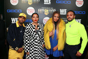 """(L - R) Growing up Hip Hop cast members Jojo Simmons, Angela Simmons, Vanessa Simmons, and Romeo Miller attend the """"Growing Up Hip Hop"""" season 4 party on December 4, 2018 in New York City."""