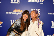 """Carol Alt and Lil Mama attends WEtv's premiere fashion event celebrating the return of """"Bridezillas"""" on March 13, 2019 at Angel Orensanz Foundation in New York City."""