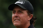 Phil Mickelson of the USA waits to play on the first hole during the final round of the WGC - HSBC Champions at the Sheshan International Golf Club on November 3, 2013 in Shanghai, China.