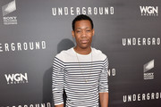 Tyler James Williams - The Stars of 'The Walking Dead' Out of Costume