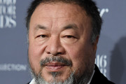 Honoree and Artist Ai Weiwei attends the WSJ Magazine 2016 Innovator Awards at Museum of Modern Art on November 2, 2016 in New York City.