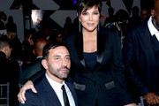 Riccardo Tisci and Kris Jenner attend the WSJ. Magazine 2019 Innovator Awards sponsored by Harry Winston and Rémy Martin at MOMA on November 06, 2019 in New York City.
