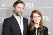 Bart Freundlich and Julianne Moore attend the WSJ. Magazine 2019 Innovator Awards sponsored by Harry Winston and Rémy Martinat MOMA on November 06, 2019 in New York City.